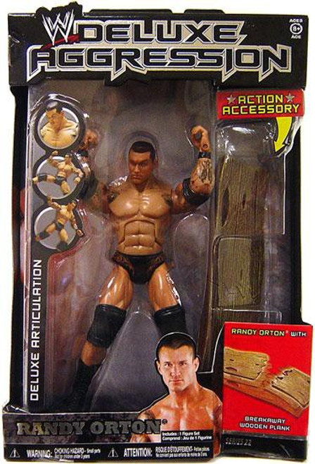 WWE Wrestling Deluxe Aggression Series 22 Randy Orton Action Figure