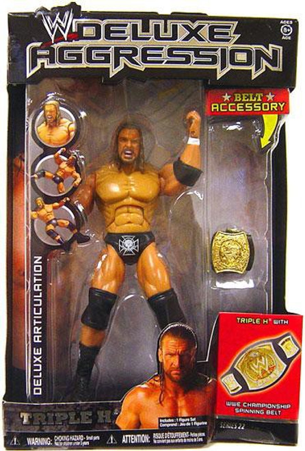 WWE Wrestling Deluxe Aggression Series 22 Triple H Action Figure