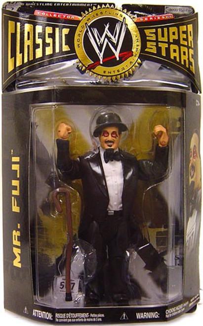 WWE Wrestling Classic Superstars Series 26 Mr. Fuji Action Figure