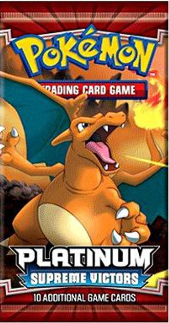 Pokemon Trading Card Game Platinum Supreme Victors Booster Pack [10 Cards]