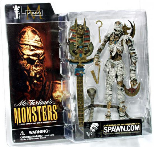 McFarlane Toys McFarlane's Monsters Mummy Action Figure [Clean Package]