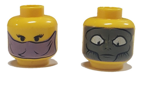 Star Wars Zam Wesell Minifigure Head [Loose]