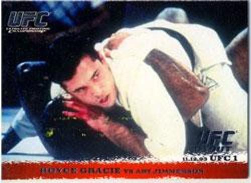 Topps UFC 2009 Round 1 Royce Gracie #1