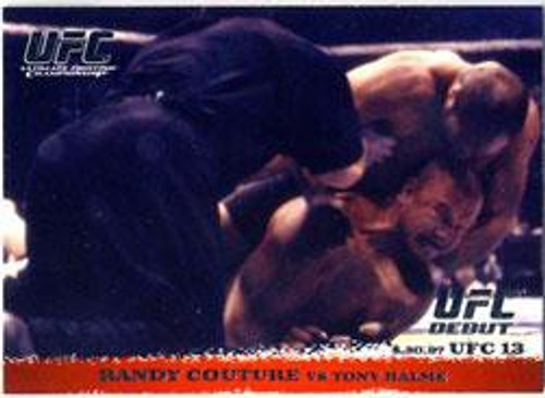 Topps UFC 2009 Round 1 Randy Couture #4