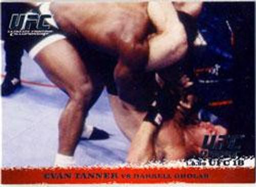 Topps UFC 2009 Round 1 Evan Tanner #7