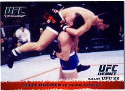 Topps UFC 2009 Round 1 Matt Hughes #8
