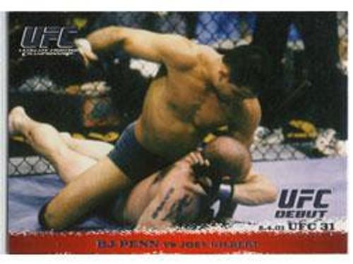 Topps UFC 2009 Round 1 BJ Penn #10