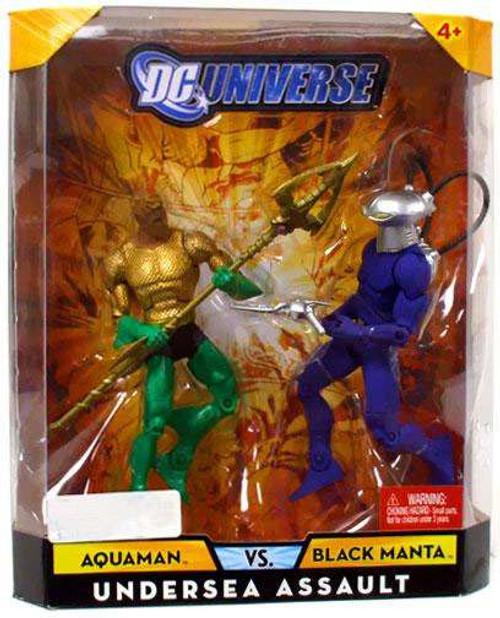 DC Universe Aquaman Vs Black Manta Exclusive Action Figures