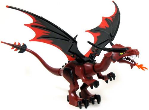 LEGO Knight's Kingdom Large Red Flame Dragon Minifigure
