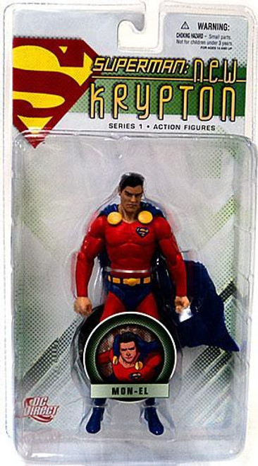 DC Superman New Krypton Series 1 Mon-El Action Figure