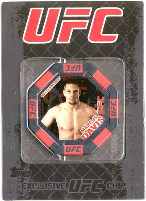 UFC Topps Main Event Marcus Davis Exclusive Poker Chip #14
