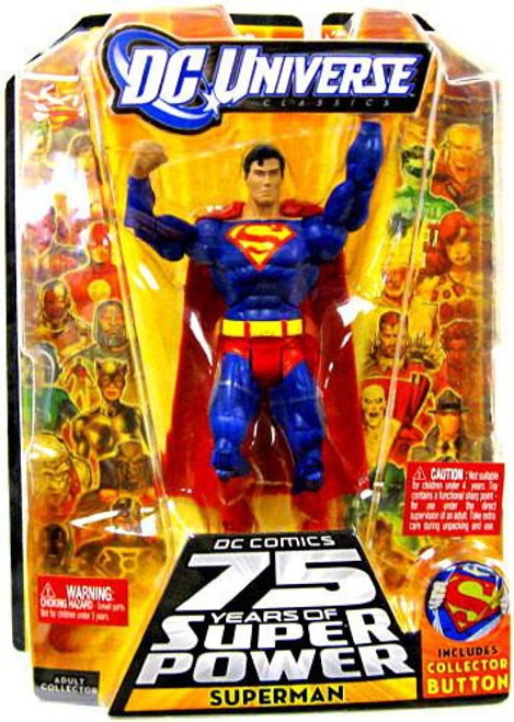 DC Universe 75 Years of Super Power Classics Superman Action Figure