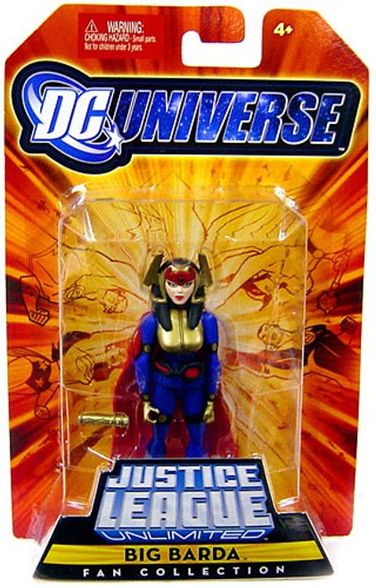 DC Universe Justice League Unlimited Fan Collection Big Barda Action Figure
