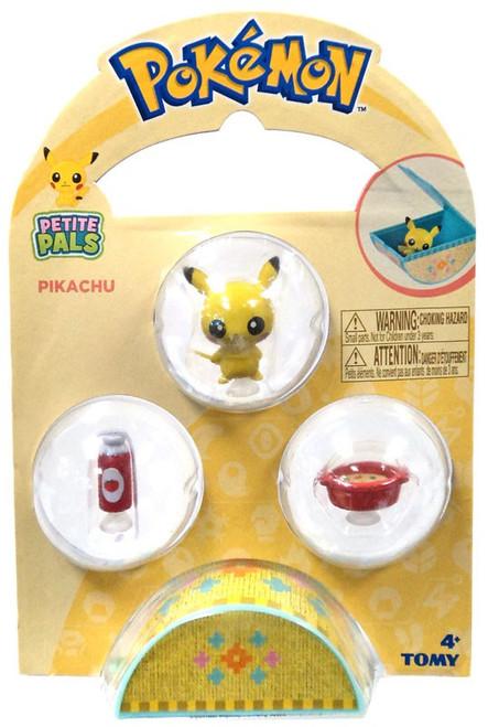 Pokemon Petite Pals Pikachu Mini Figure 3-Pack [Version 2]