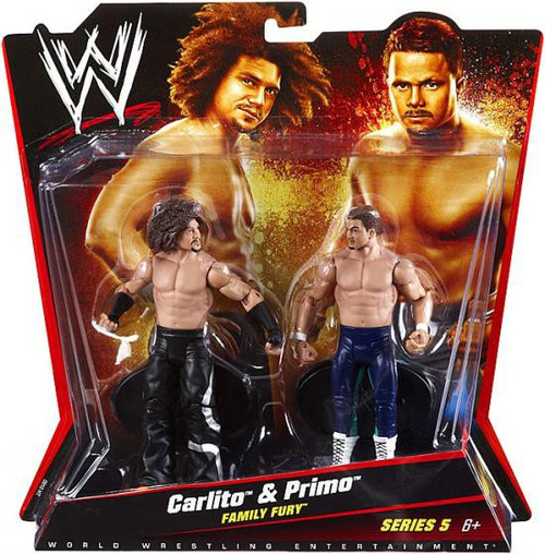 WWE Wrestling Battle Pack Series 5 Carlito & Primo Action Figure 2-Pack