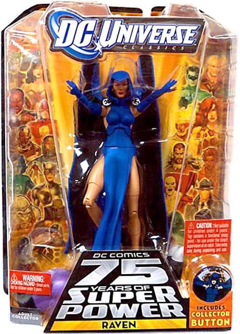 DC Universe 75 Years of Super Power Classics Validus Series Raven Action Figure