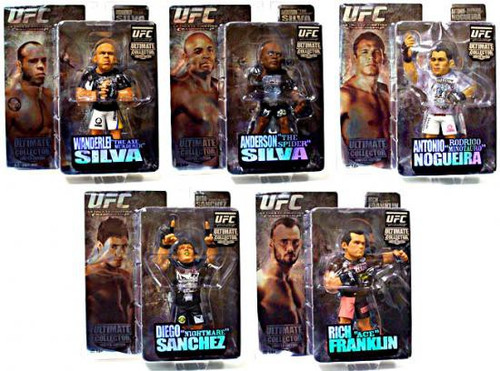 UFC Ultimate Collector Series 3 Set of 5 Action Figures [Limited Edition]