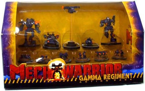 MechWarrior Gamma Regiment Action Pack