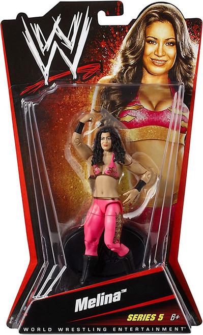 WWE Wrestling Series 5 Melina Action Figure