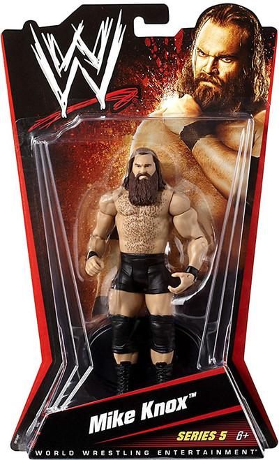 WWE Wrestling Series 5 Mike Knox Action Figure
