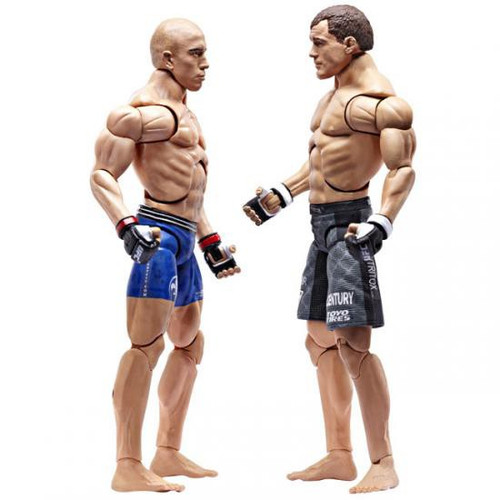UFC Ultimate Micro Fighters Series 2 Matt Hughes vs. Georges St. Pierre Mini Figure 2-Pack