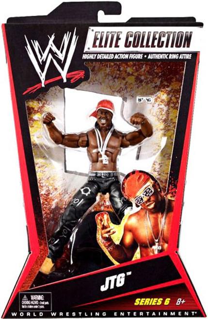 WWE Wrestling Elite Collection Series 6 JTG Action Figure