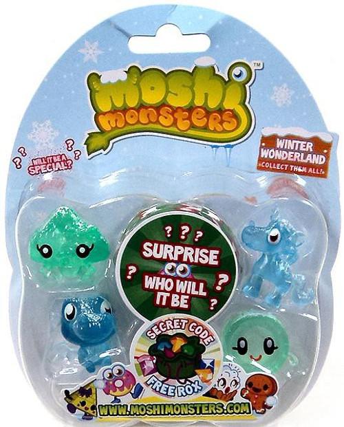 Moshi Monsters Moshlings Winter Wonderland Mini Figure 5-Pack