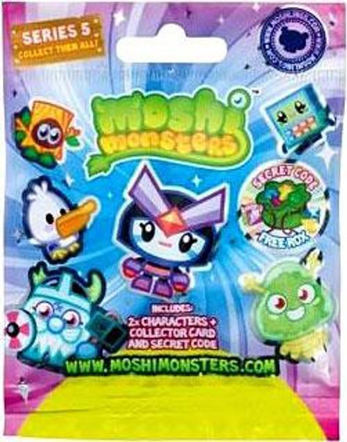 Moshi Monsters Moshlings Series 5 Mini Figure 2-Pack