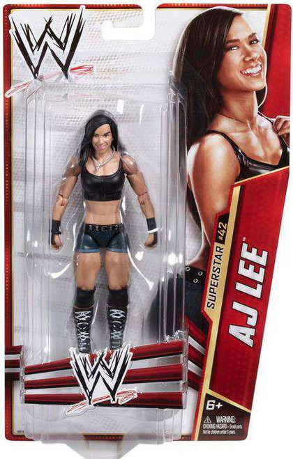 WWE Wrestling Series 30 AJ Action Figure #42