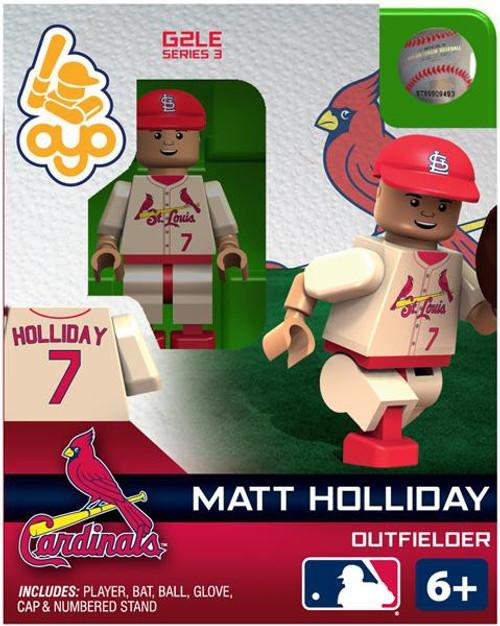 St. Louis Cardinals MLB Generation 2 Series 3 Matt Holliday Minifigure