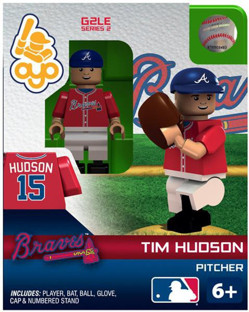 Atlanta Braves MLB Generation 2 Series 2 Tim Hudson Minifigure
