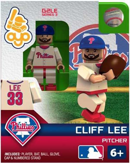Philadelphia Phillies MLB Generation 2 Series 3 Cliff Lee Minifigure