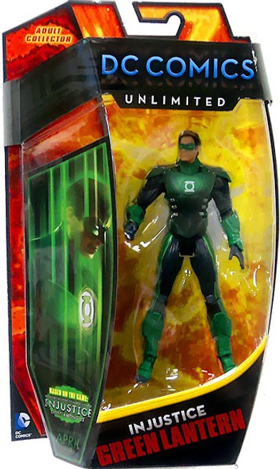 DC Comics Unlimited Series 4 Injustice Green Lantern Action Figure