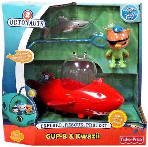Fisher Price Octonauts GUP-B & Kwazii Figure Set