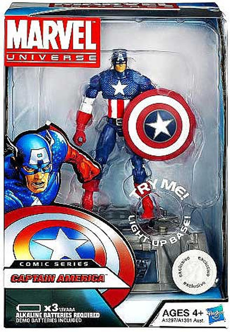Marvel Avengers Comic Series Captain America Exclusive Action Figure [Steve Rogers]