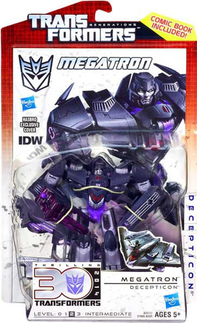 Transformers Generations 30th Anniversary Deluxe IDW Megatron Deluxe Action Figure