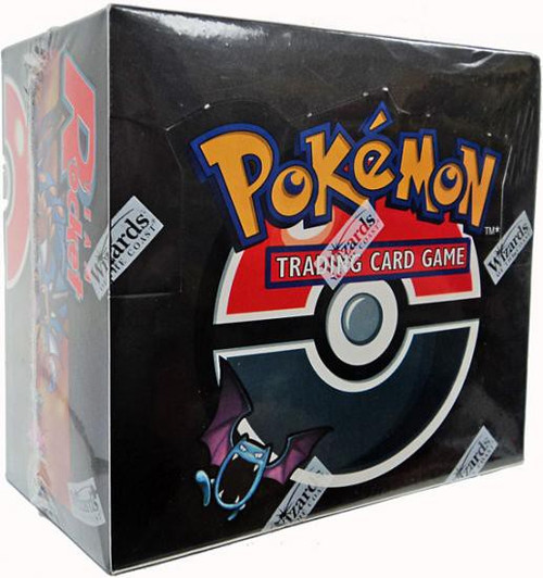 Pokemon Trading Card Game Team Rocket Booster Box [1st Edition, 36 Packs]