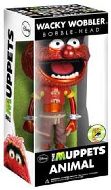 Funko The Muppets Wacky Wobbler Animal Exclusive Bobble Head [Metallic]