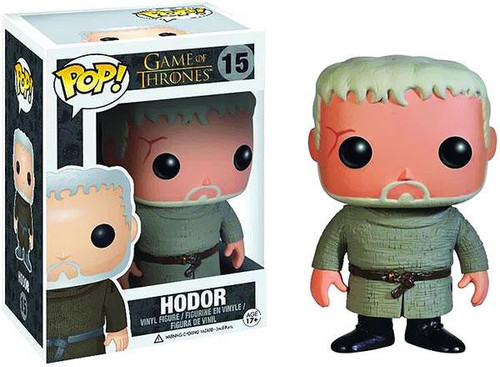 Funko Game of Thrones POP! TV Hodor Vinyl Figure #15
