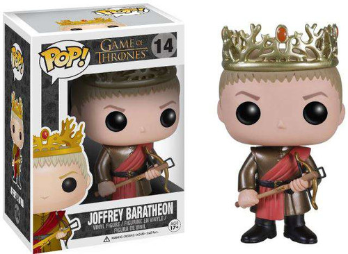 Funko Game of Thrones POP! TV Joffrey Baratheon Vinyl Figure #14