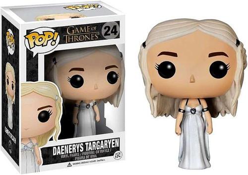 Funko Game of Thrones POP! TV Daenerys Targaryen Vinyl Figure #24 [Wedding Dress]