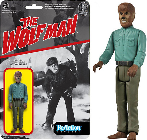 Funko Universal Monsters ReAction Wolfman Action Figure