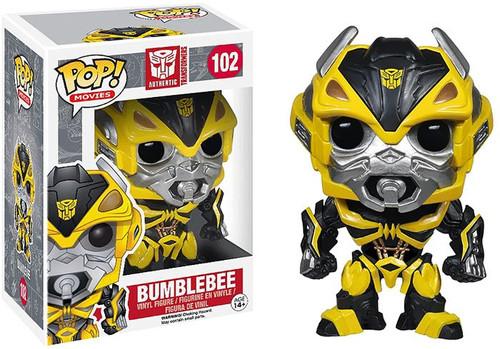 Funko Transformers Age of Extinction POP! Movies Bumblebee Vinyl Figure #102