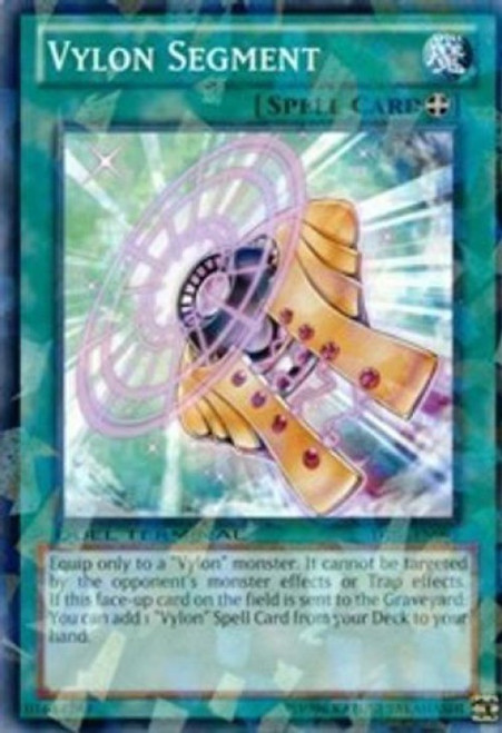 YuGiOh Duel Terminal 6 Parallel Rare Vylon Segment DT06-EN095