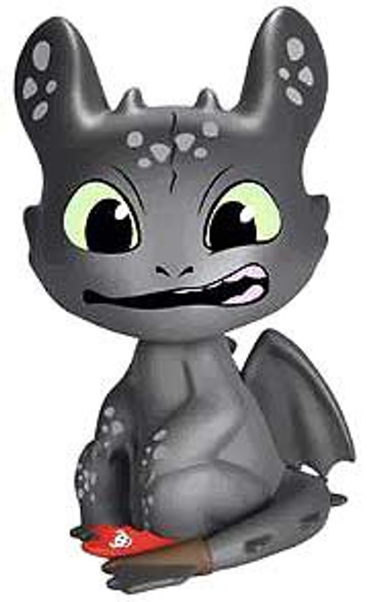 Funko How to Train Your Dragon Mystery Minis Toothless 2-Inch Mystery Minifigure [Gums Showing Loose]