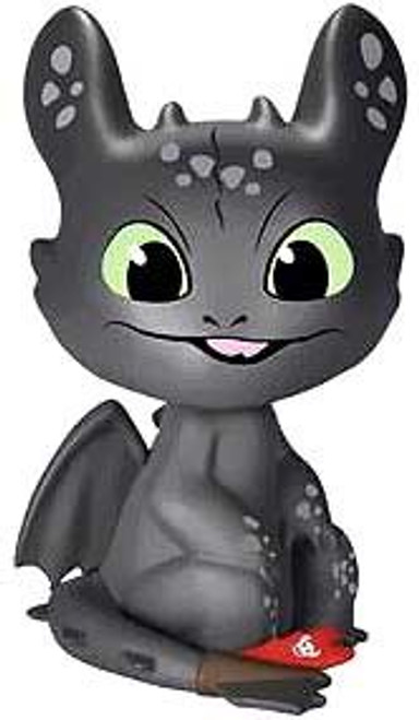 Funko How to Train Your Dragon Mystery Minis Toothless 2-Inch Mystery Minifigure [Tongue Out Loose]