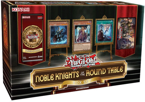 YuGiOh Trading Card Game Noble Knights of the Round Table Box Set
