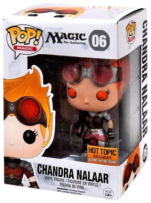 Funko MtG POP! Magic Chandra Nalaar Exclusive Vinyl Figure #06 [Glow-in-the-Dark]