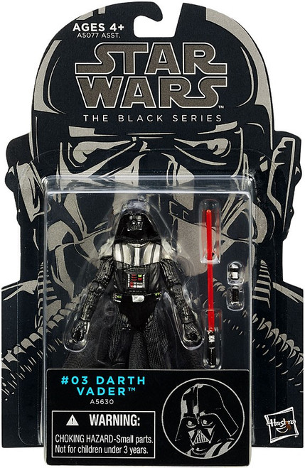 Star Wars Revenge of the Sith Black Series Wave 6 Darth Vader Action Figure #03