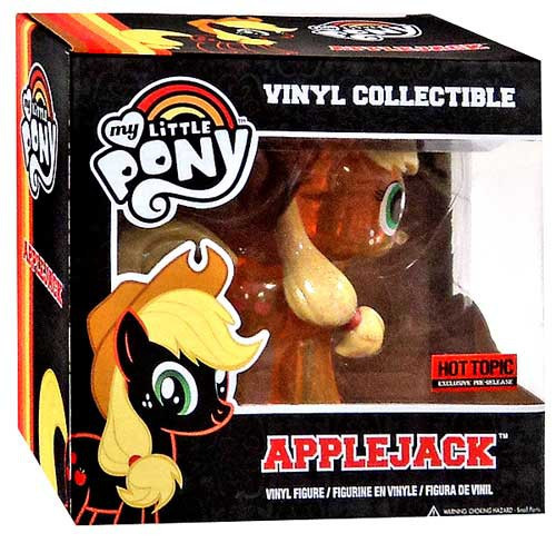 Funko My Little Pony Applejack Exclusive Vinyl Figure [Translucent Variant]